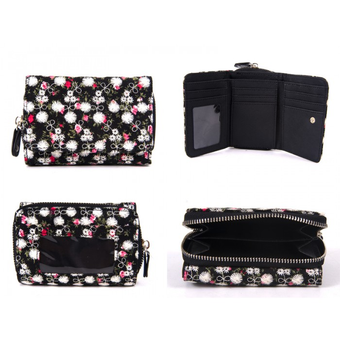 LJP-100 BLACK LILLY & JANE PURSE
