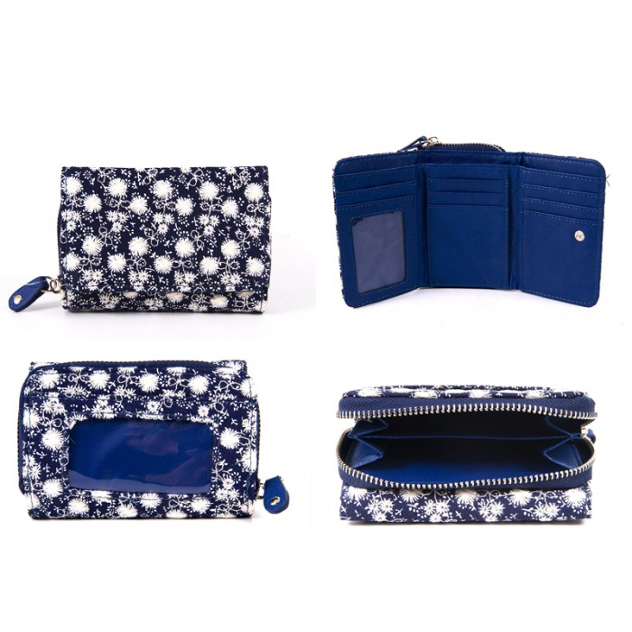 LJP-100 NAVY LILLY & JANE PURSE