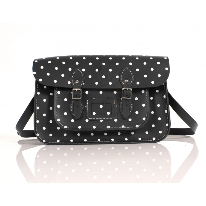 RL15 BLACK POLKA DOT ENGLISH NEW