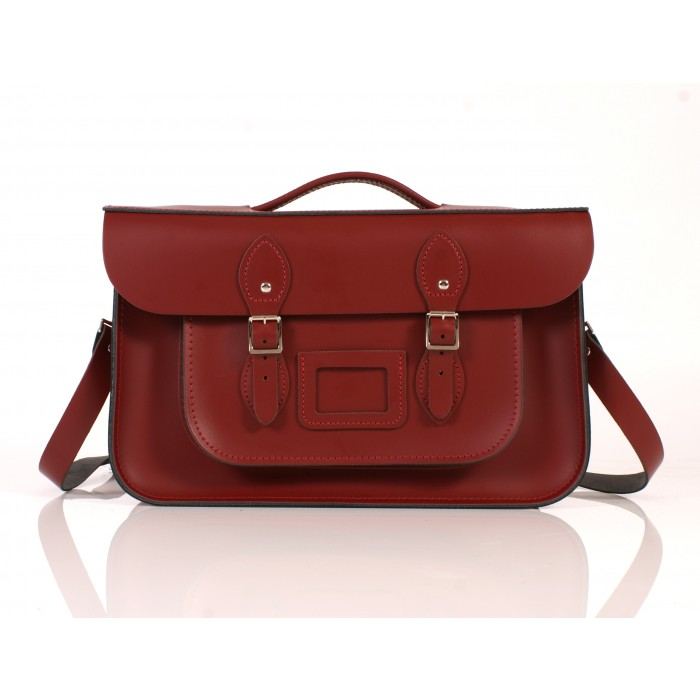 RL15 BRIEFCASE ENGLISH RED