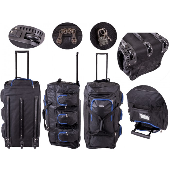 TB230 Trolley Bag Black/Blue 30""