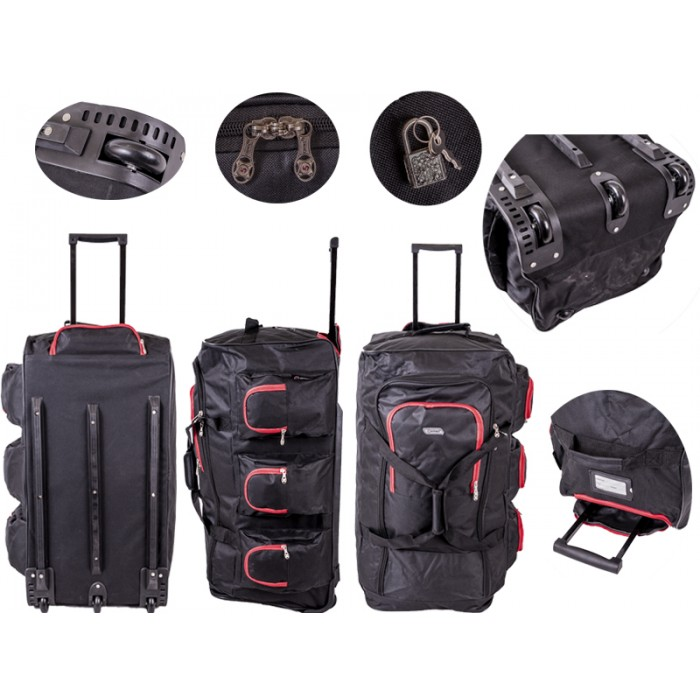 TB230 Trolley Bag Black/Red 30""