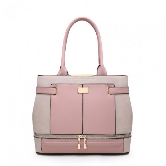 W5097 Shoulder Bag -Beige