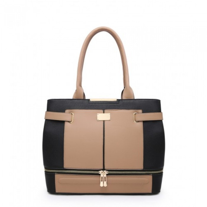 W5097 Shoulder Bag -Apricot