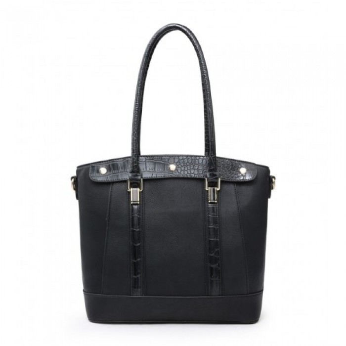 W6116 Shoulder Bag-Black