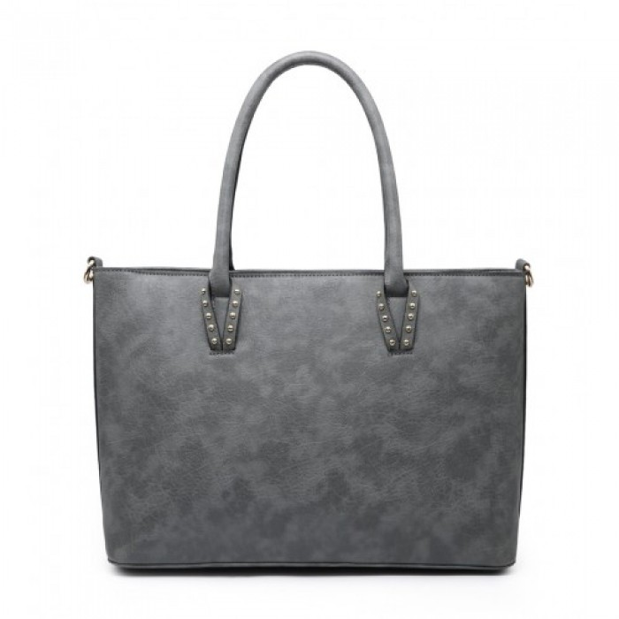 Z-9886 Shoulder Bag -Grey