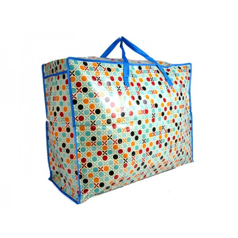 JBLND01 DOTS AND CROSSES LARGE LAUNDRY BAG