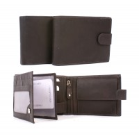 1007 WALLET LONDON LEATHER BROWN