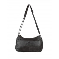 3793 BLACK COW HIDE BAG