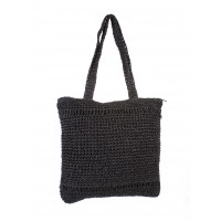 KNIT SHOPPER BLACK