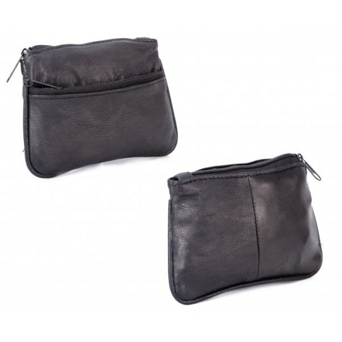1464 HSG ROUND EDGES COIN PURSE W/ZIP