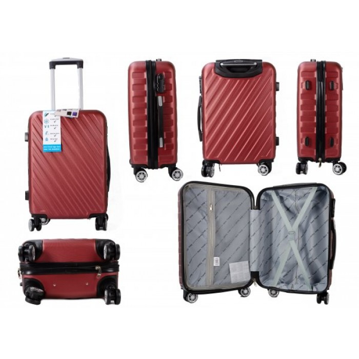 CABIN-02 AERO TRAVEL BURGANDY 20""