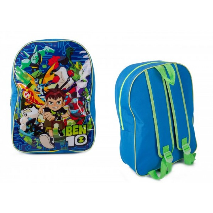 1023AHV-7368 BEN TEN CHILDREN'S LARGE ARCH BACKPACK