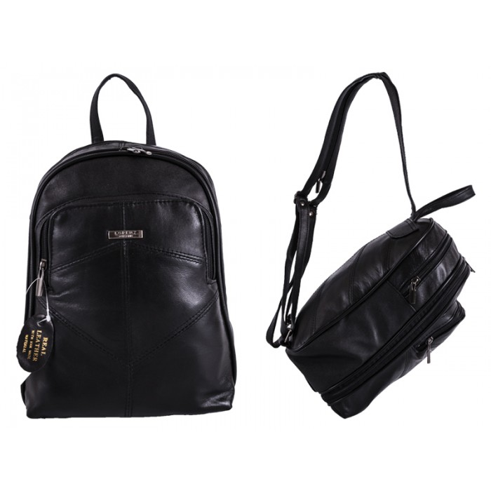 1909 BLACK S.NAPPA BACKPACK