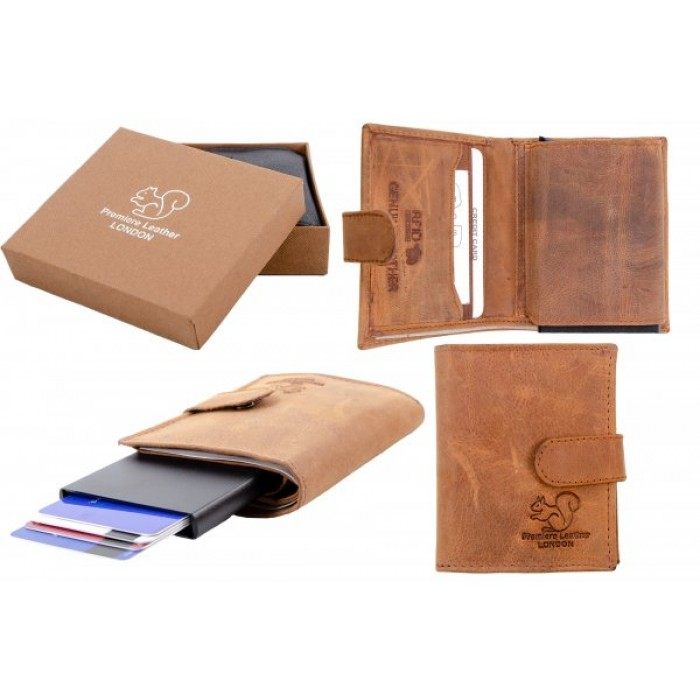 RL 9001 TAN A RFID C-SECURE CASE WALLET