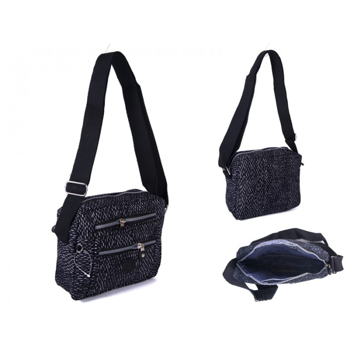 2500 blk flecks Lorenz shoulder bag