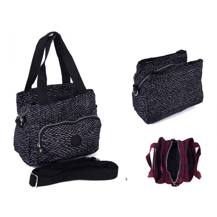 2503 BLK FLECKS Lorenz shoulder bag