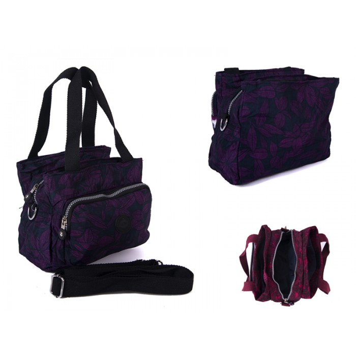 2503 PURPLE BOWS Lorenz shoulder bag