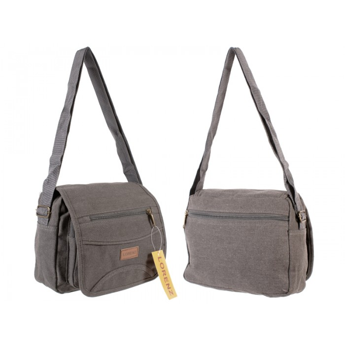 2542 UNISEX SHOULDER BAG GREY
