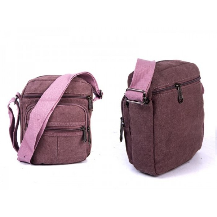 2557 BURGANDY PORTRAIT XBODY BAG WTH TOP ZIP, 3 FRONT