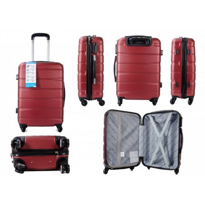 CABIN-01 AERO TRAVEL BURGANDY 20""
