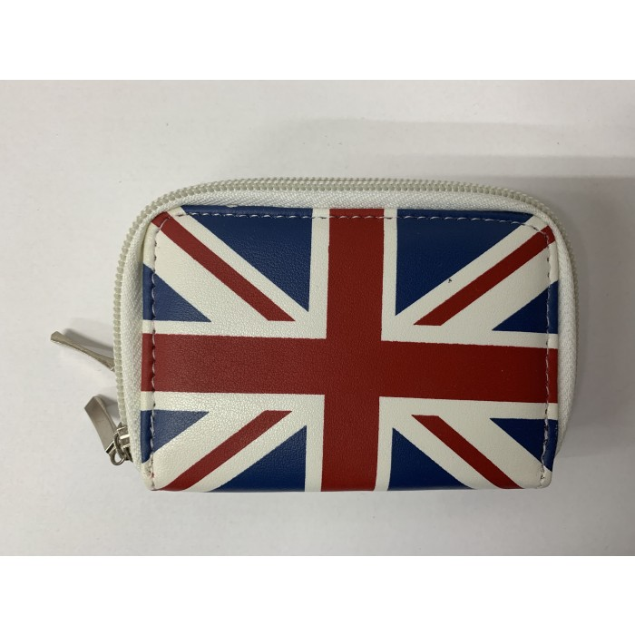 32608 WHITE UNION JACK PURSE