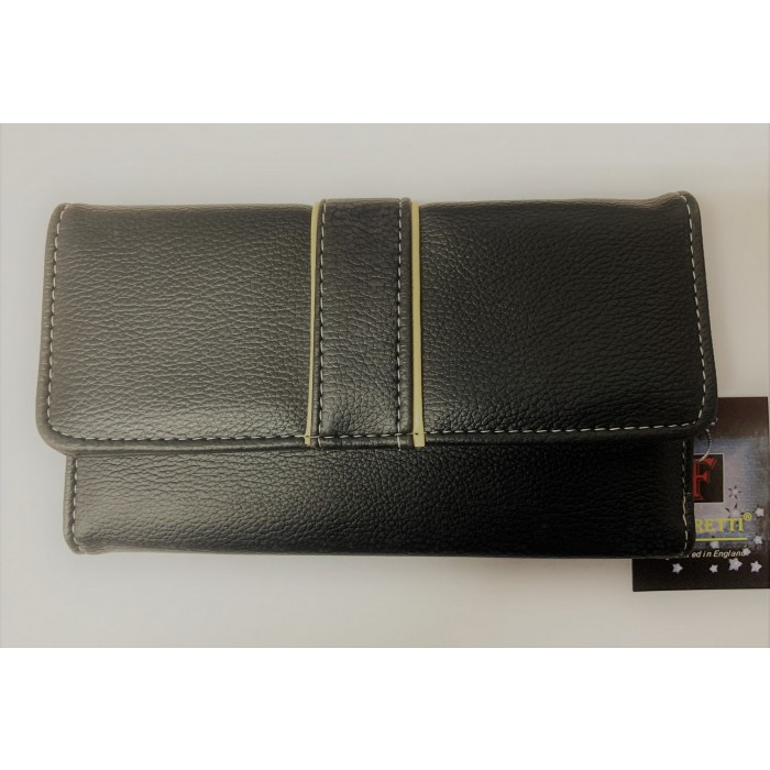 33361 BLACK FABRETTI PURSE
