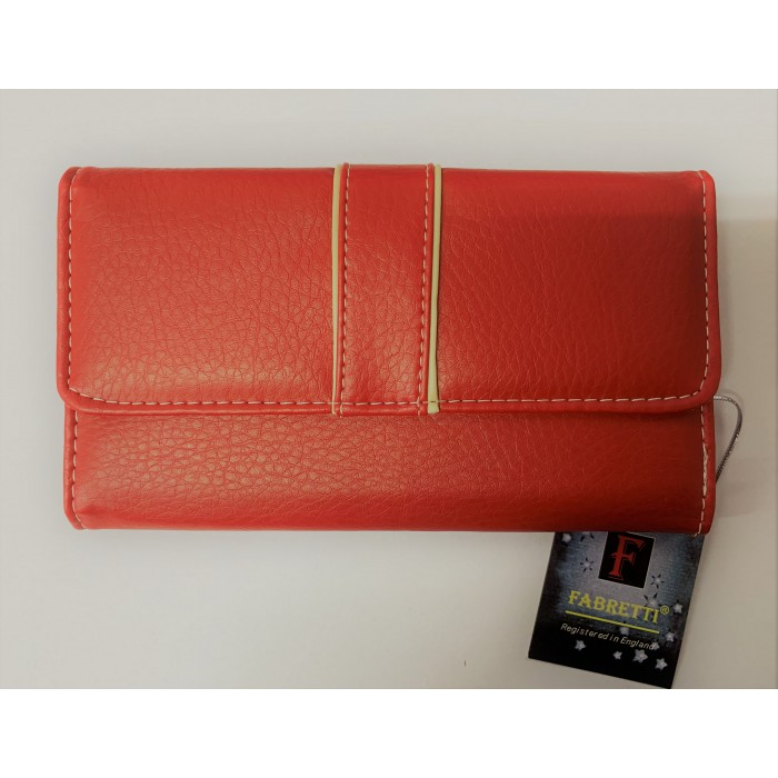 33361 RED FABRETTI PURSE
