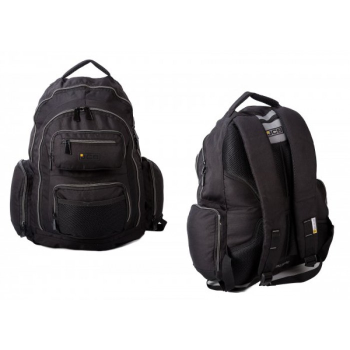 JCB22 JCB BACKPACK W/ INSULATED POCKET & 7 ZIPS