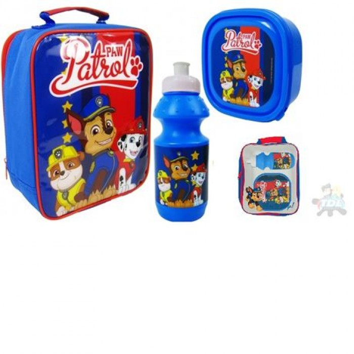 3pce Lunch Bag Set Paw Patrol 3pce Lunch Bag Set Paw Patrol