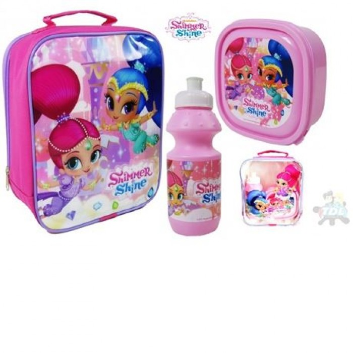 3pce Lunch Bag Set Shimmer & Shine