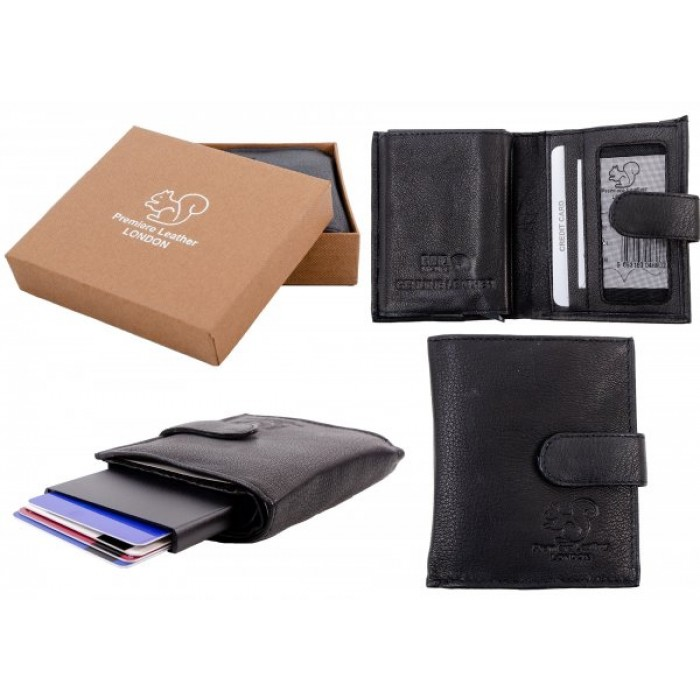 RL 9003A BLACK RFID C-SECURE CASE WALLET