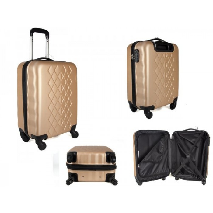 "JB2017 GOLD 20"" CABIN TROLLEY CASE"