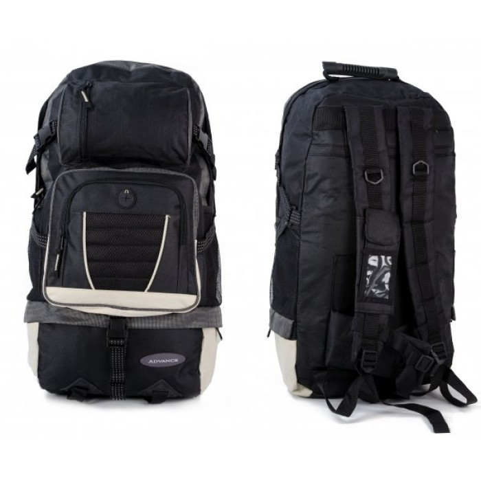 ABP-55 BLACK HIKING RUCKSACK