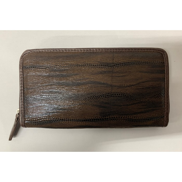 6212 BROWN BLACK WAVY LORENZ ELEGANT PURSE