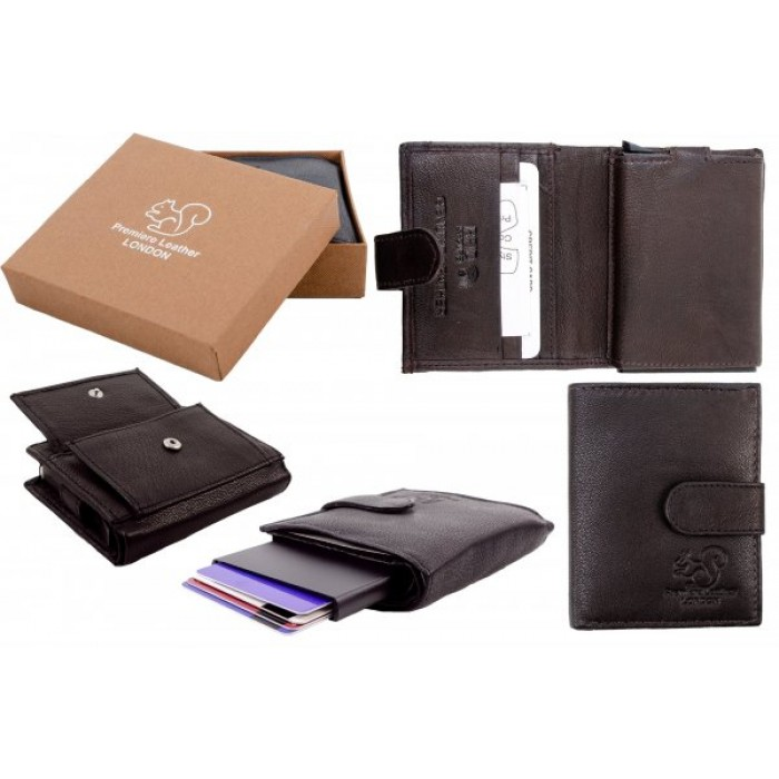 RL 9004 BROWN RFID C-SECURE CASE WALLET