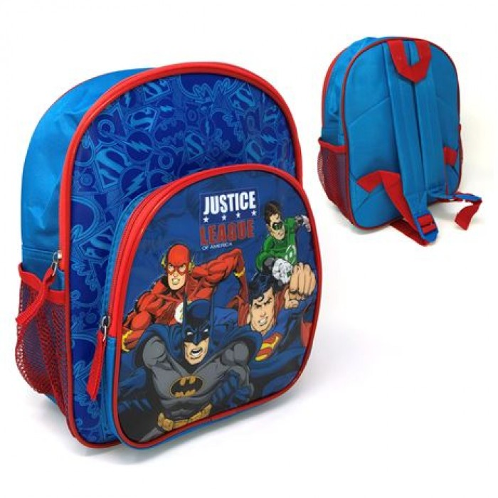 5585029C28 Backpack with 3D Front Pocket- Justice League