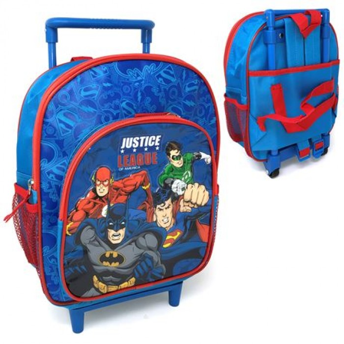 5585056C28 Deluxe 33cm Trolley Backpack Justice League