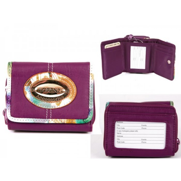 7587 PURPLE PU PURSE