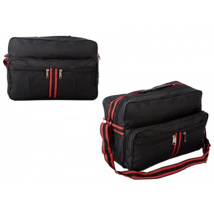 TB-101 RED HOLDALL W/ FRONT POCKETS £4.25