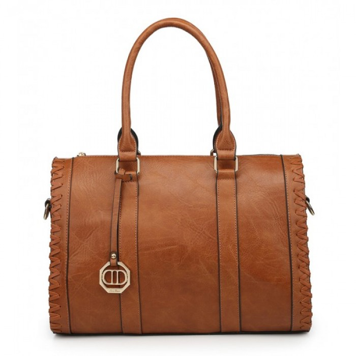 9230-95 BROWN SHOULDER BAG