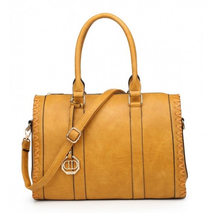 9230-95 YELLOW SHOULDER BAG