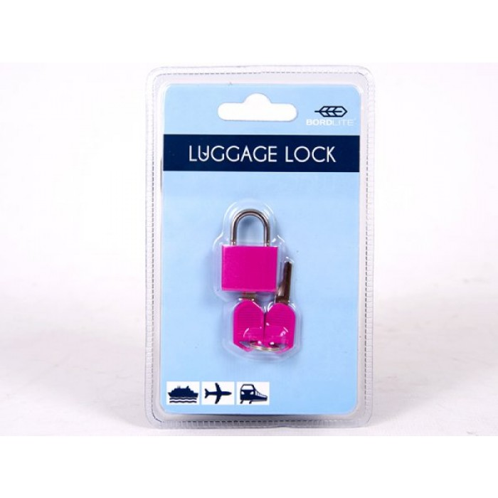 JBACC03 PINK LUGGAGE LOCK