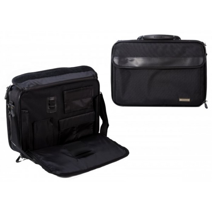 490 NOTEBOOK CASE W/ ZIP DOWN ACCESSORY COMPARTMENT