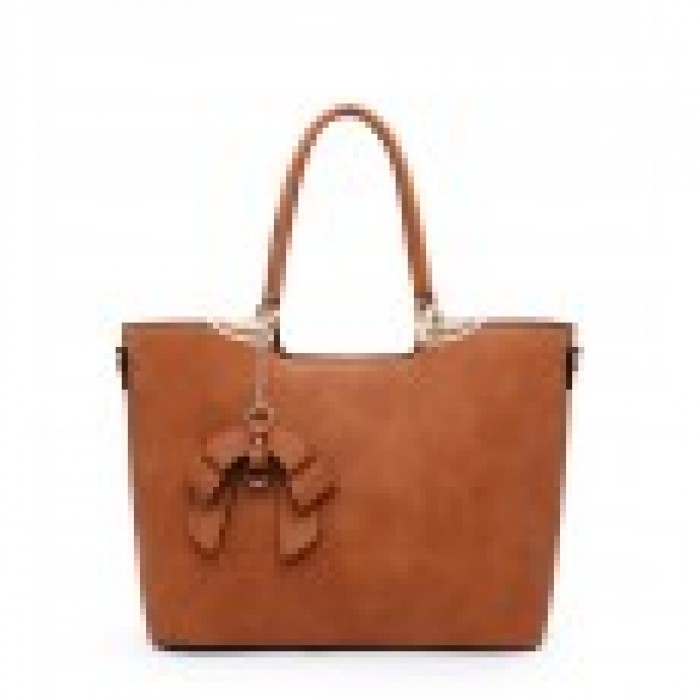 A36235 SHOULDER BAG-BROWN