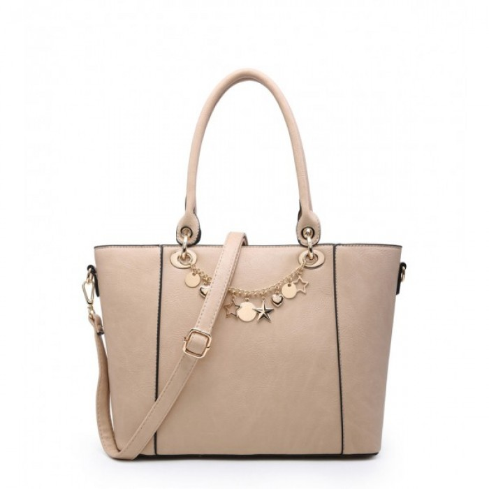 A36393 Shoulder Bag - Apricot