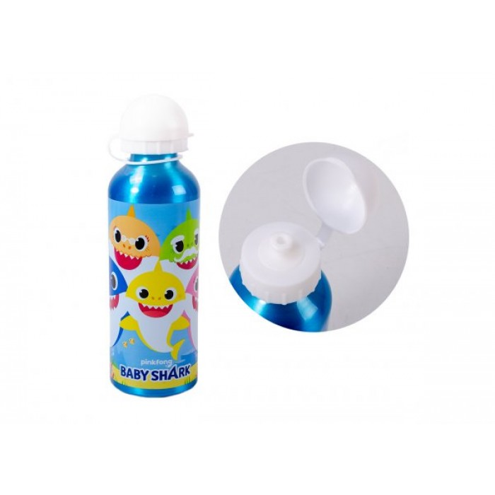4020-9295 BABY SHARK ALUMINUM WATER BOTTLE