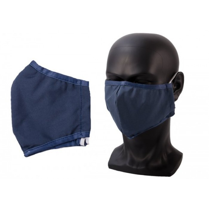 ANTI-DUST COTTON MASK FACE COVER UNISEX NAVY