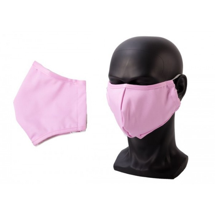 ANTI-DUST COTTON MASK FACE COVER PINK