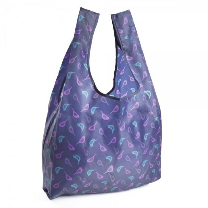BB0918A FOLDABLE SHOPPING BAG PURPLE